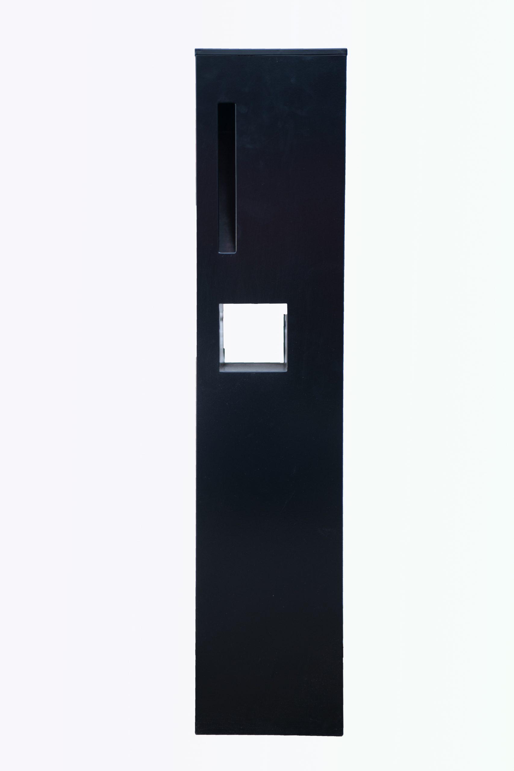 Metal Mailbox Steel Black JHC 9702