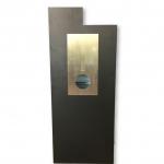 Metal Mailbox Black JHC 6018