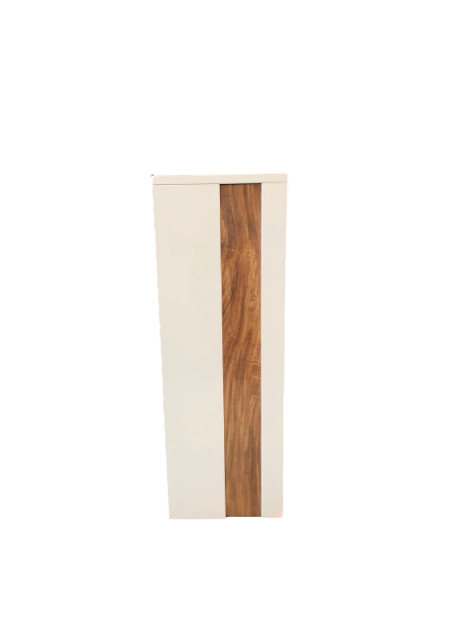 Metal Mailbox – Nice Backyard White Slim Parcel Box 5010