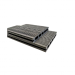 3D Hollow Composite Decking Boards 145 x 21 x 5400mm Black Colour