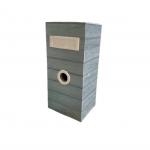 Steel Metal Mailbox - 6011 / Grey